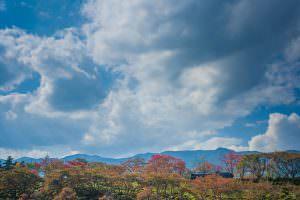 蒸気機関車が連れてきたのか、秋のすがすがしい空気がとても気持ちいいです。